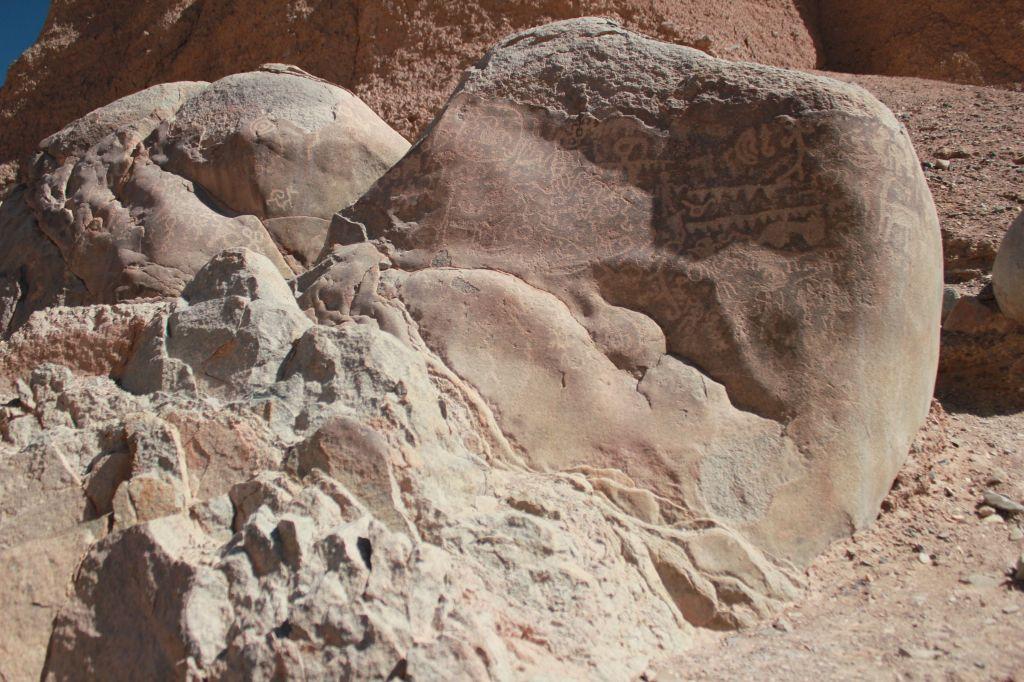 12 petroglyphs near Huatacondo