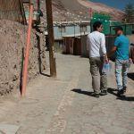 16 Huatacondo arrival