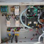 46 junction panel at wind turbine
