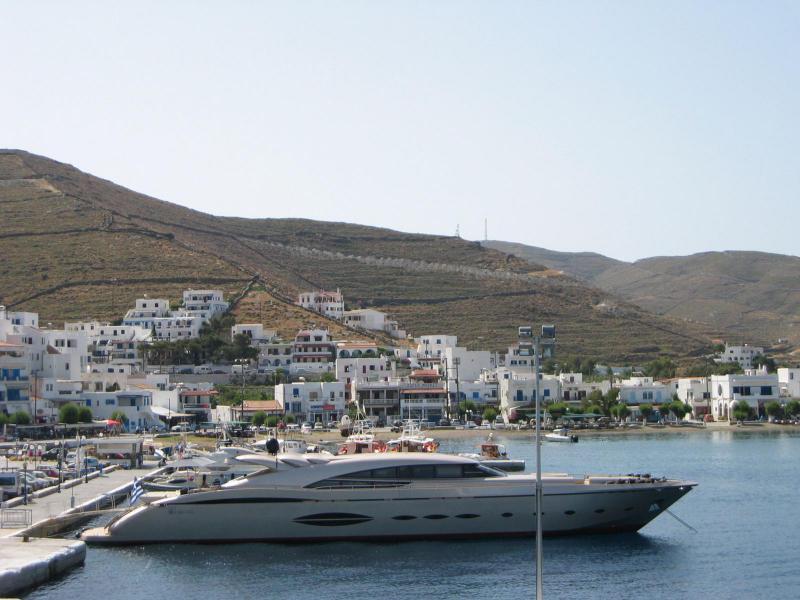 Kythnos Main Harbor