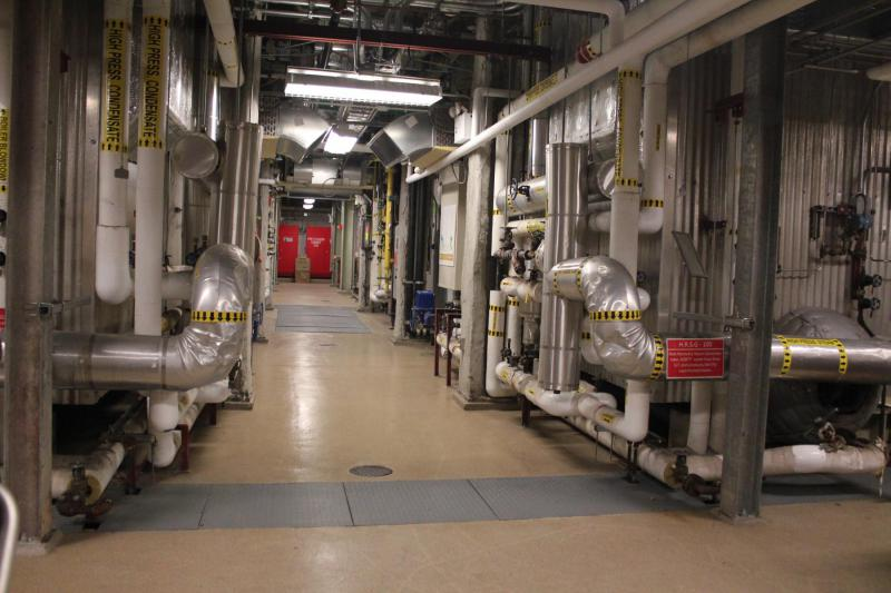 NYU's Dual Steam Generators