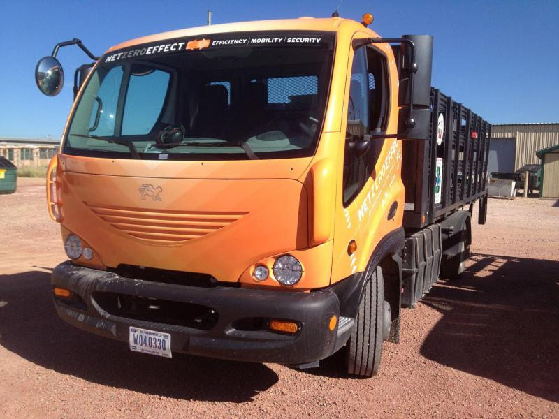 Fort Carson Electric Truck