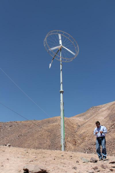 Huatacondo Wind Turbine