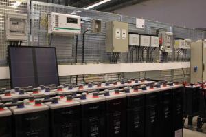 The testing cage at Tecnalia Microgrid Laboratory