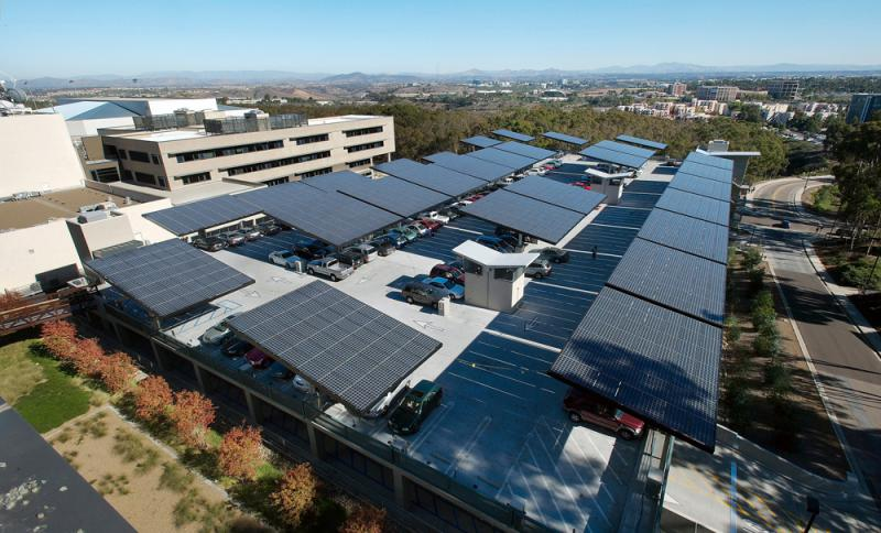 UCSD Solar Panels
